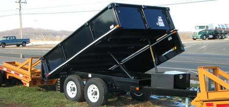 featherlite dump trailer